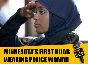 Islam Muslims MINNESOTA'S FIRST HIJAB - women 18-5-2015